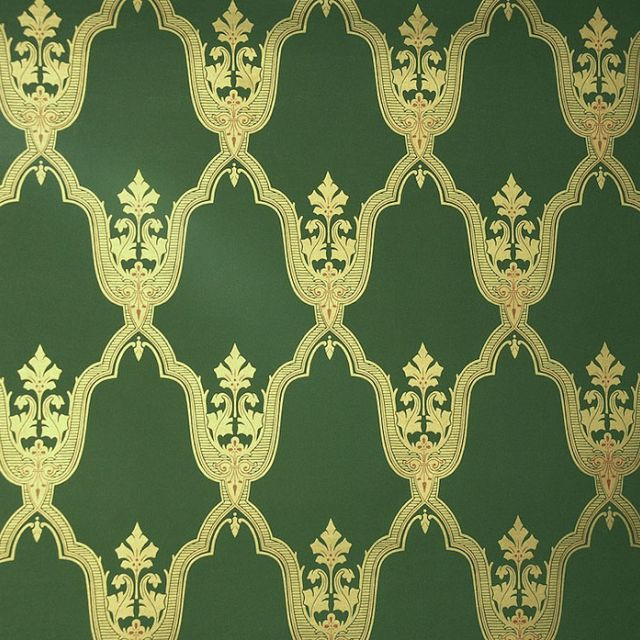 Melias Wallpaper - green