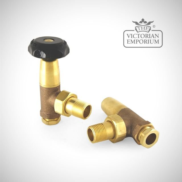 "Bradford 1/2"" Manual Radiator valve set"