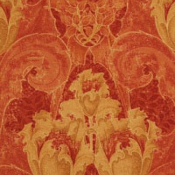 Camberwell linen fabric - Indian Red