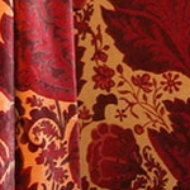 Welbeck fabric - claret