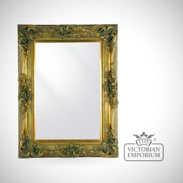 Norfolk Mirror in Gold in a choice of 4 sizes