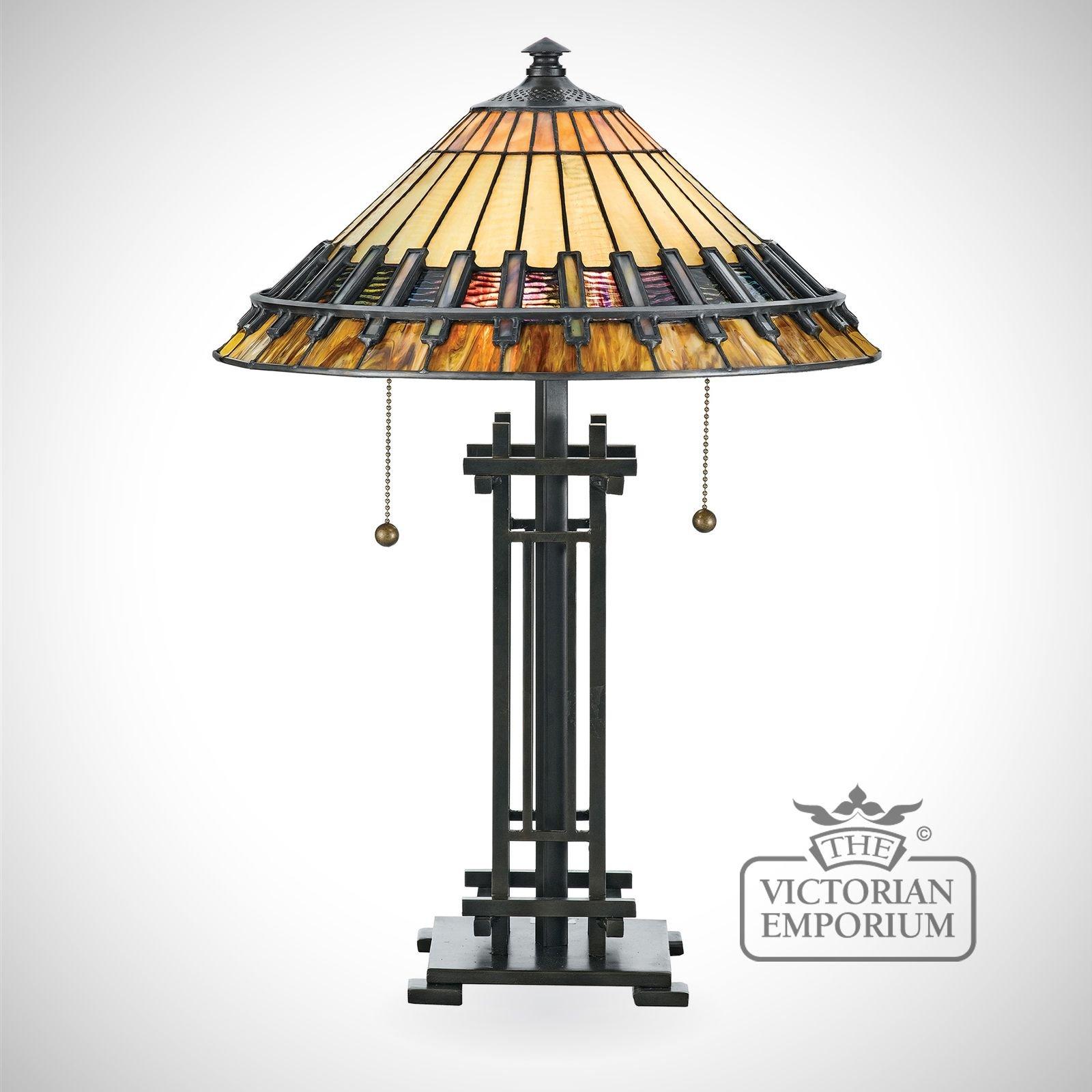 Tiffany Chastan Table Lamp The Victorian Emporium