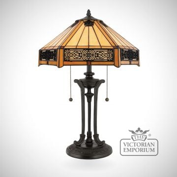 Tiffany Indus Table Lamp