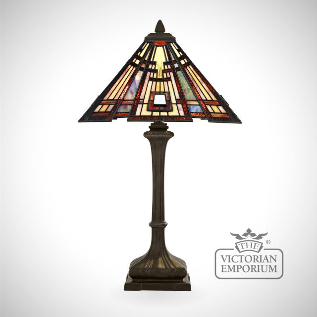 Tiffany Craftsman Table Lamp