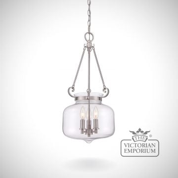 Stewart Ceiling Pendant in Brushed Nickel
