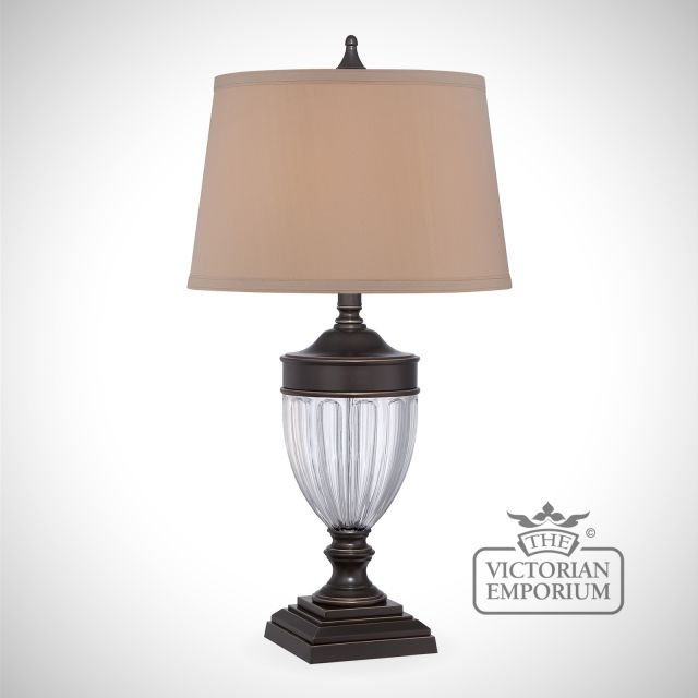 Dennison Table Lamp in Bronze