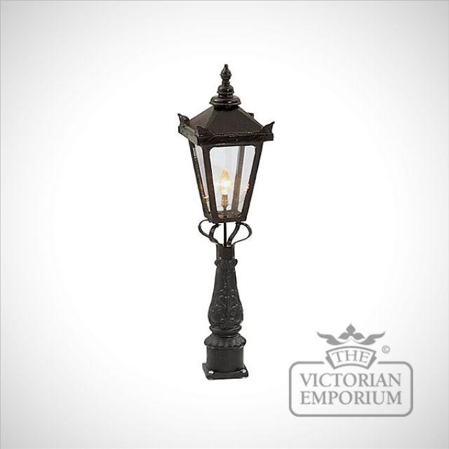 Square cast alloy lanterns - various sizes