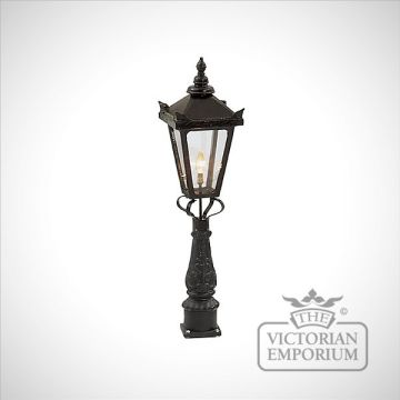 Square cast alloy lanterns - various sizes