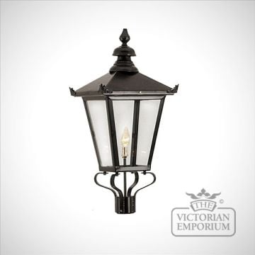 Square steel lanterns - various sizes
