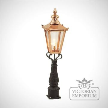 Square copper lanterns - various sizes