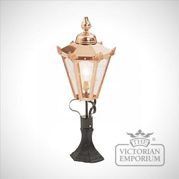 Hexagonal copper lanterns - various sizes