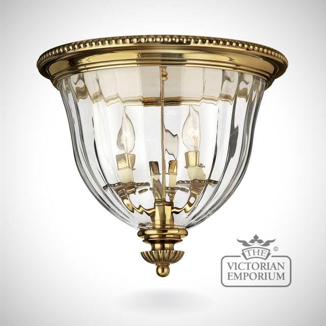Cambridge Flush mount light B