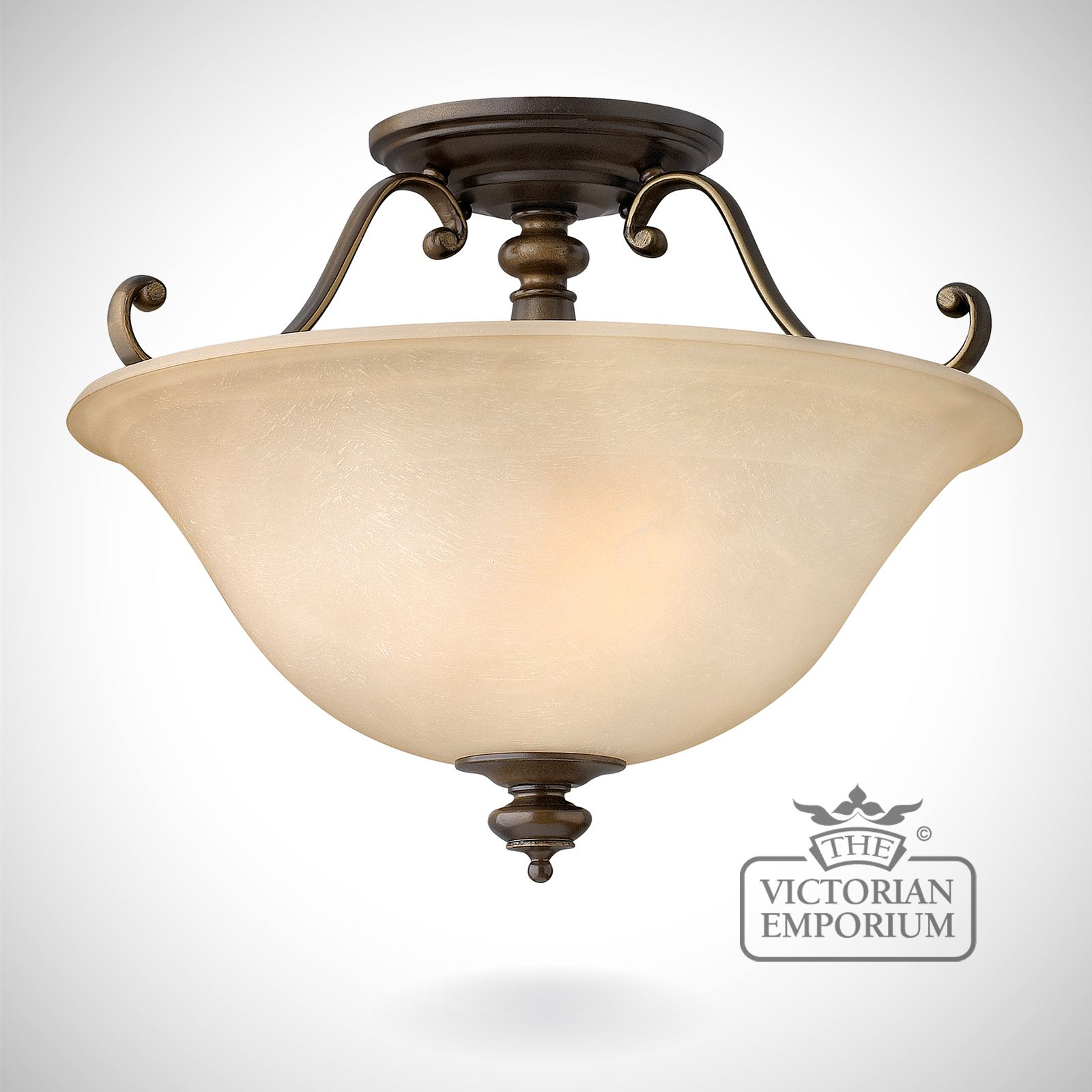 Dunhill Semi Flush Mount Light The Victorian Emporium