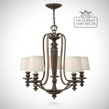 Dunhill 5 light chandelier