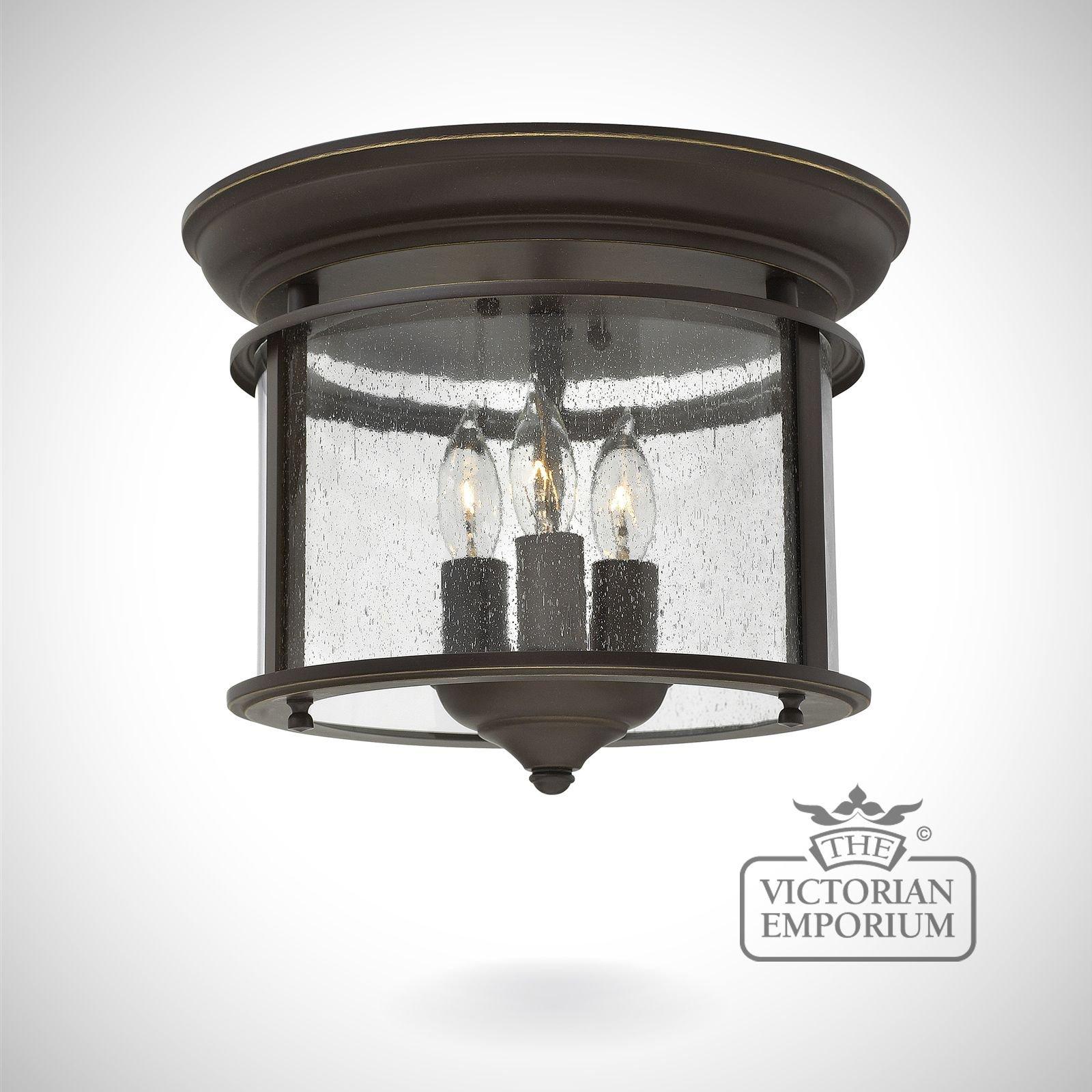 gentry flush mount light in old bronze interior ceiling