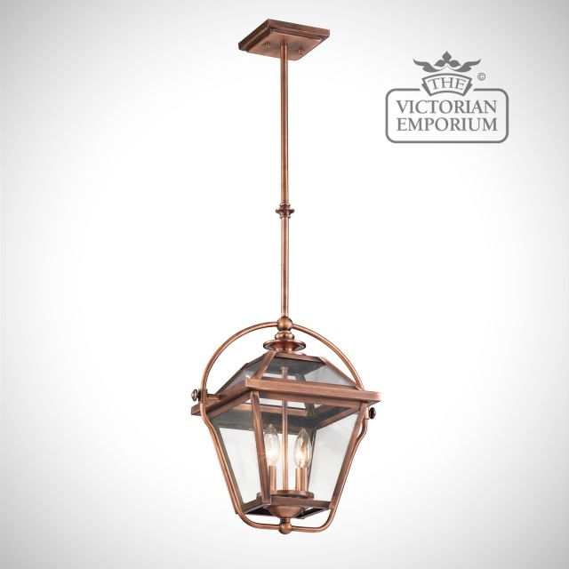 Ryegates pendant in antique copper