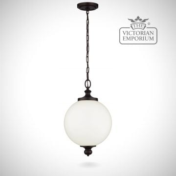 Parks pendant in oil rubbed bronze