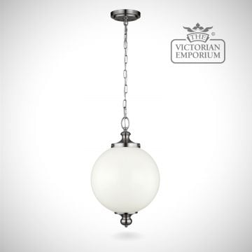 Parks pendant in polished nickel