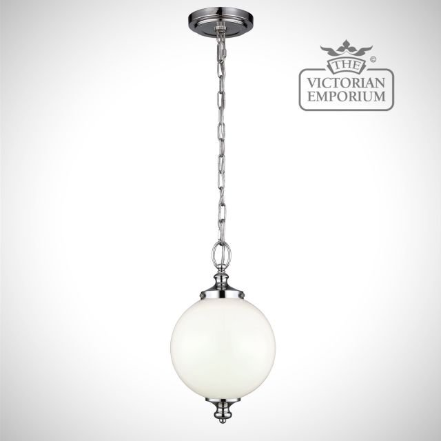 Parks small pendant in polished nickel