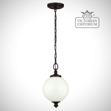 Parks small pendant in oil rubbed bronze