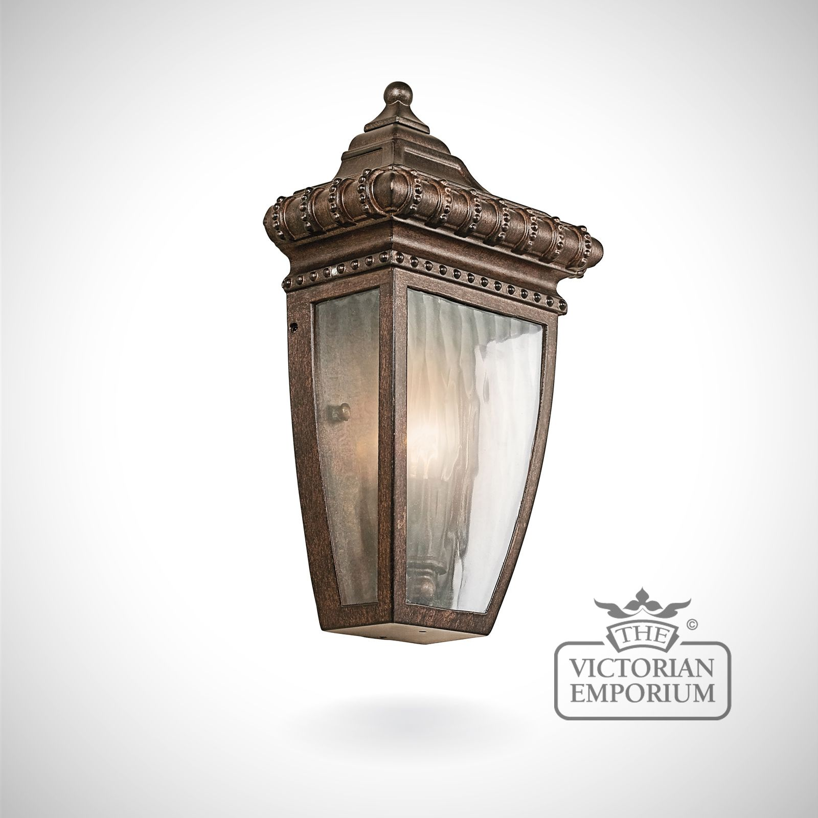 Venice half wall lantern Outdoor Wall Lights
