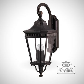 Cotswold large wall lantern in Bronze
