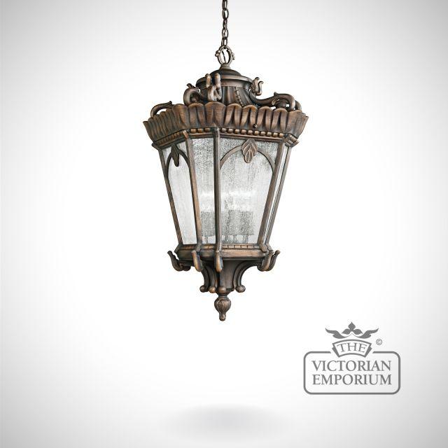 Tournai extra extra large chain lantern