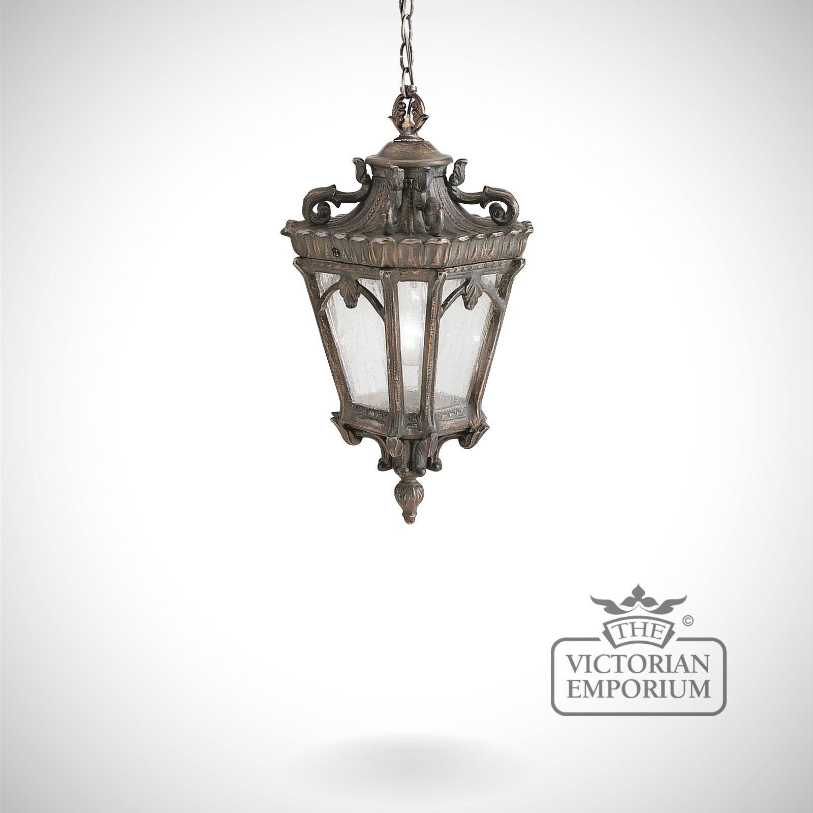 Tournai Medium Chain Lantern The Victorian Emporium