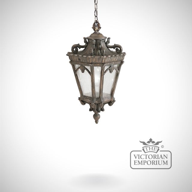 Tournai medium chain lantern