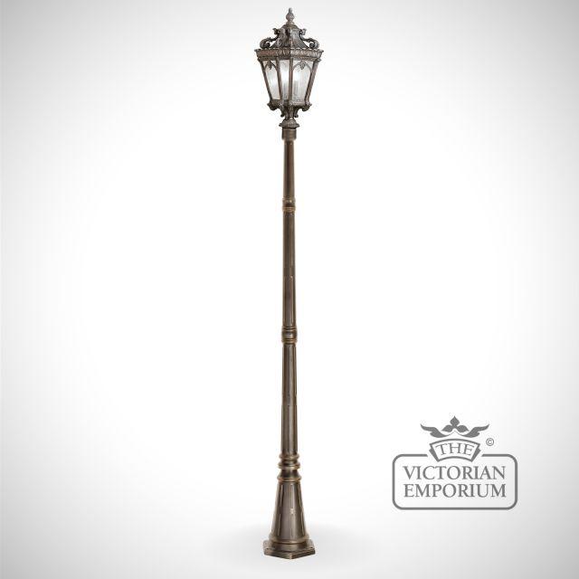 Tournai extra large lamp post
