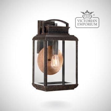Byron large wall lantern in Imperial Bronze