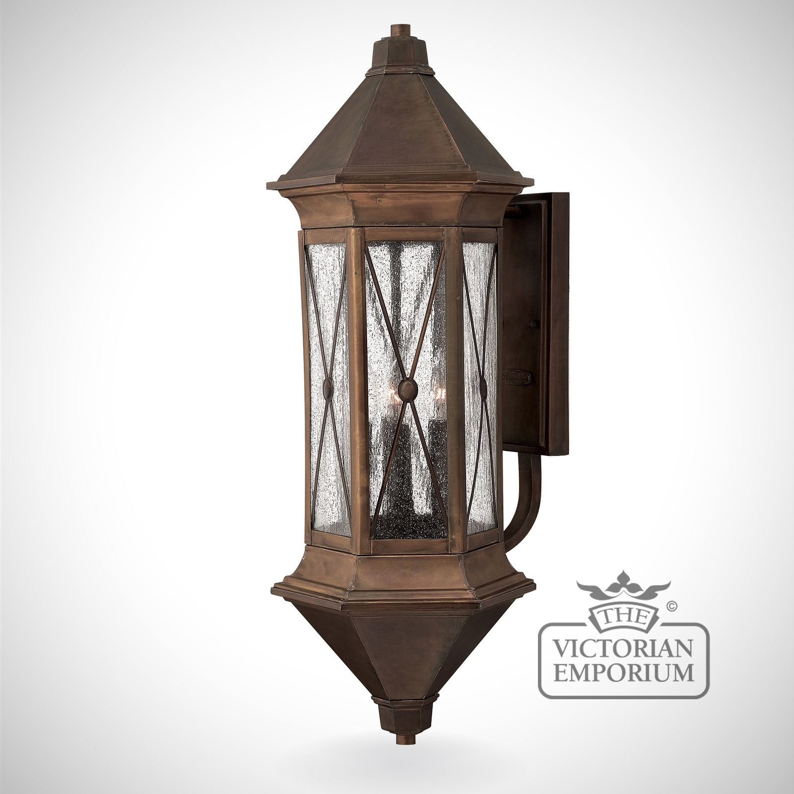 Brighton extra large wall lantern Outdoor Wall Lights
