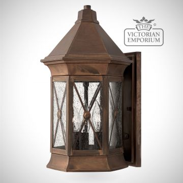 Brighton medium wall lantern