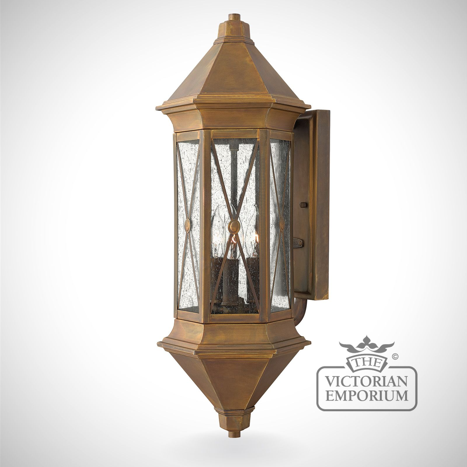 Brighton large wall lantern Outdoor Wall Lights