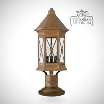 Brighton pedestal lantern