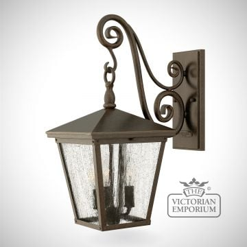Trellis Regency Bronze medium wall lantern