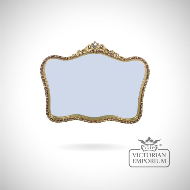 Genoa mirror 107x81cm - decorative gold frame