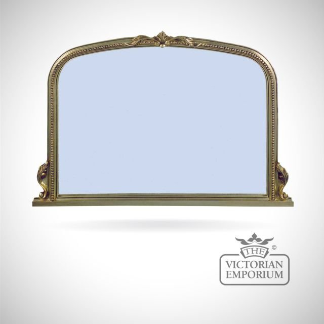 Windsor Mirror with decorative gold frame - 122x81cm