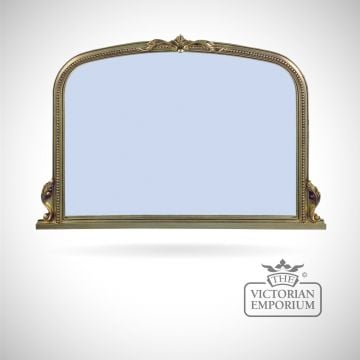 Windsor Mirror with decorative gold frame - 127x91cm