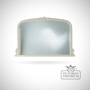 Windsor Mirror with decorative ivory frame - 127x91cm