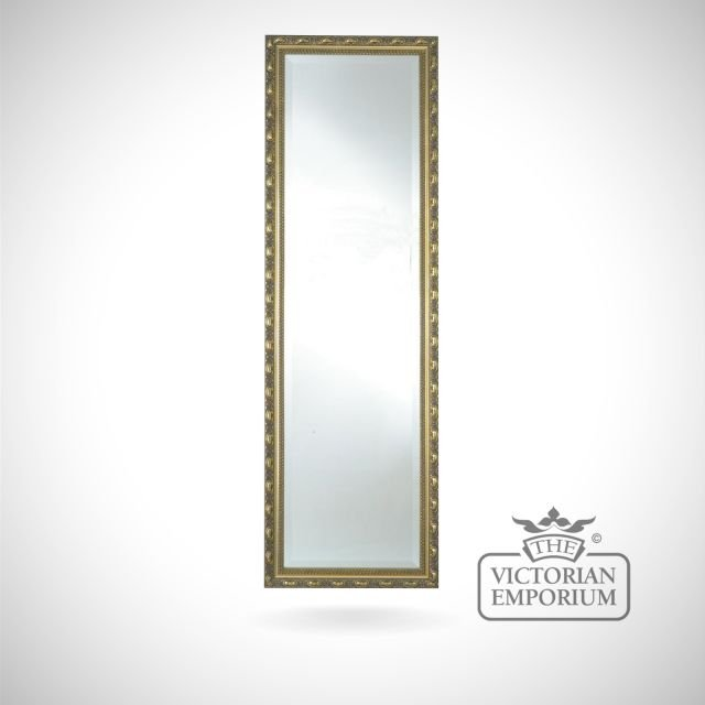 Cambridge Mirror with gold frame in a choice of sizes