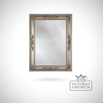 Oxford Mirror with silver frame - 175x84cm