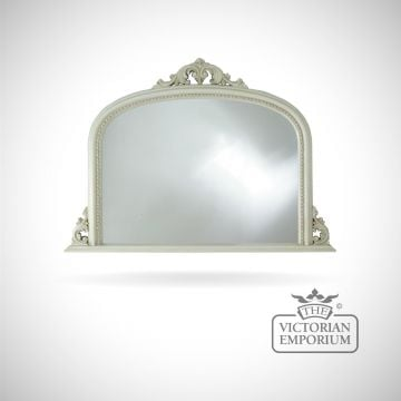Carlisle Mirror with decorative ivory frame - 127x91cm