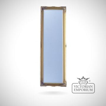 Penarth Mirror with gold frame - 124x41cm