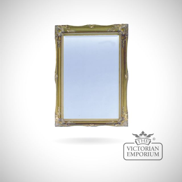 Newport Mirror gold frame in a choice of sizes
