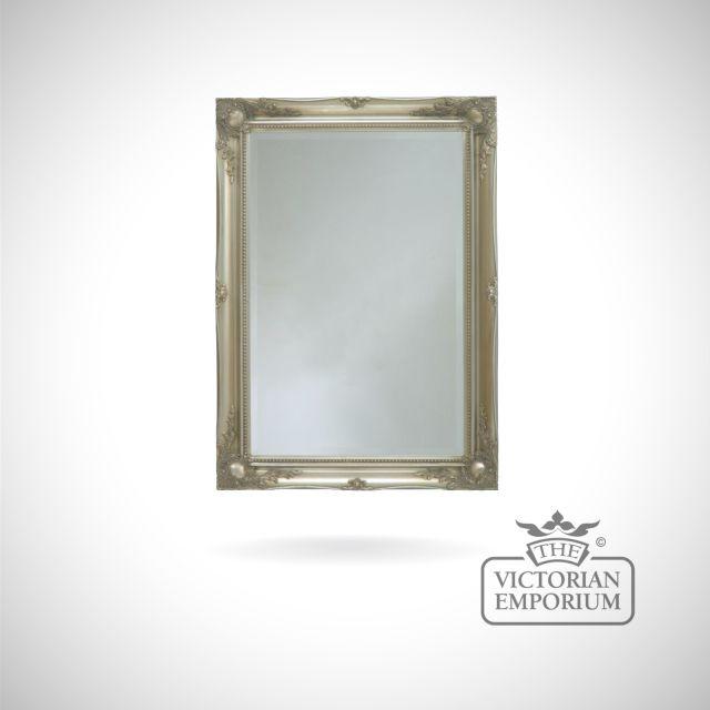 Newport Mirror with silver frame - 168cm x 107cm