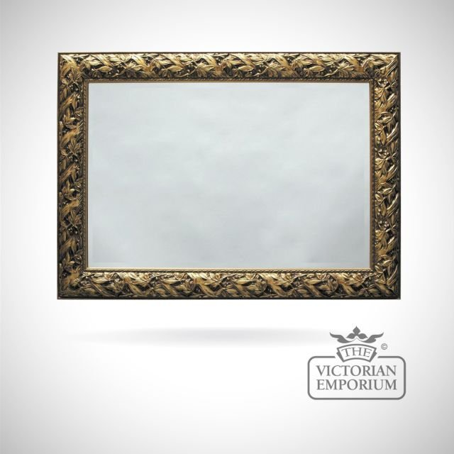 Nottingham Mirror with Rich Gold frame in a choice of 5 sizes