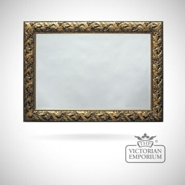 Nottingham Mirror with Rich Gold frame in a choice of 10 sizes