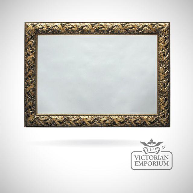 Nottingham Mirror with Rich Gold frame - 173cm x 112cm