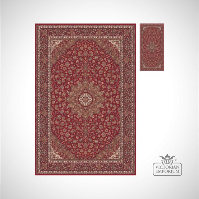Victorian Rug - style FA5643 Red